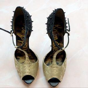 Sam Edelman Shoes - Sam Edelman Scarlett Spiked T Strap Pumps